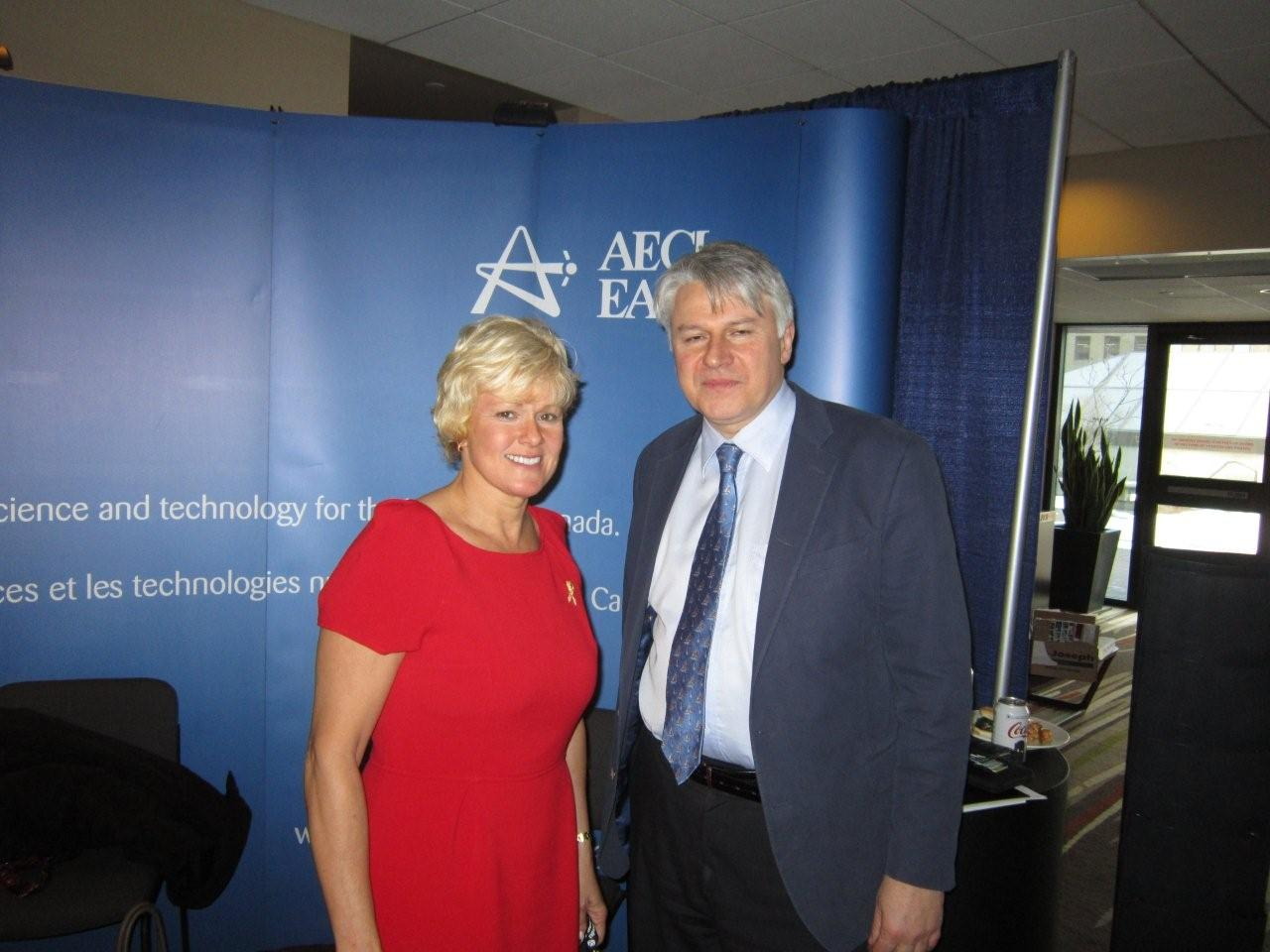 MP CHERYL GALLANT ATTENDS CANADIAN NUCLEAR ASSOCIATION (CNA) ANNUAL CONFERENCE