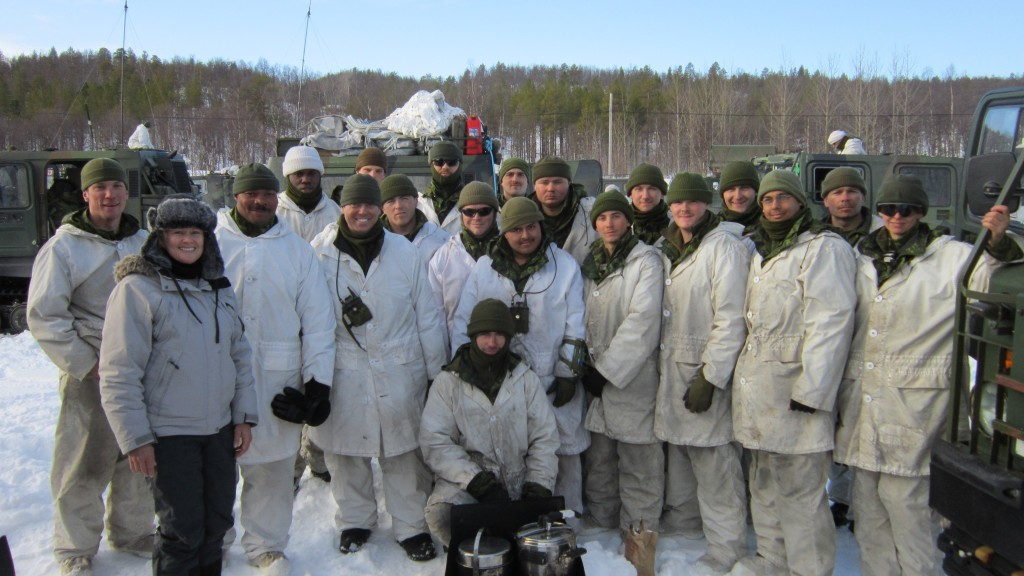 MP Cheryl Gallant Joins CFB Petawawa Training Exercise in Norway